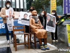 [사진] 3·1운동 102주년 '친일학자들 반성하라'