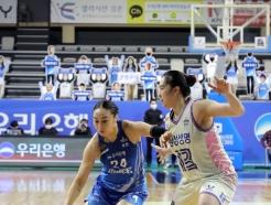 [사진] 돌파 시도하는 우리은행 김소니아