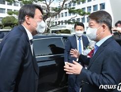 [사진] 대구에서 만난 윤석열 검찰총장과 권영진 대구시장