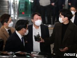 [사진] 대구 일정 마친 윤석열 총장