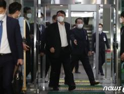 [사진] 대구검찰 방문 마친 윤석열 검찰총장