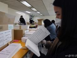 4·7 서울시장 보궐선거 투표용지 최종 검수