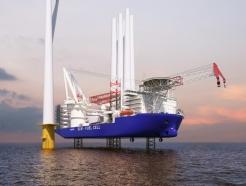 바다 한가운데서 풍력발전기 뚝딱뚝딱..삼성重 독자모델 개발