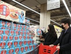 유재석 내세운 '배홍동비빔면' 통했다… 4주만에 700만개 팔려