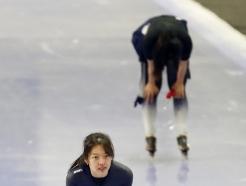 [사진] 여자 3000m 1위한 김보름