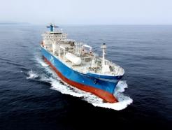 한국조선해양 LPG선 3척 수주…총 2270억원