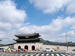 [사진] 비구름 물러가는 서울하늘
