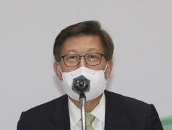 [사진] 인사말 하는 박형준 시장