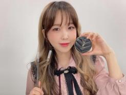 짝눈 고민이라던 웨이, '쌍수' 후 사진 보니…완벽 대칭 미모