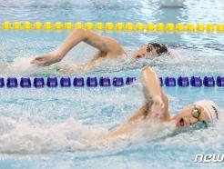 [사진] 도쿄에 태극기 올리기 위해 노력하는 수영 대표팀