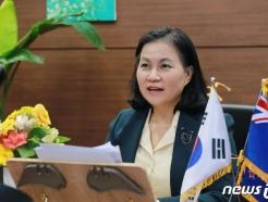 [사진] 유명희 통상교섭본부장 '통상장관 화상회의'