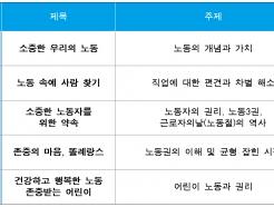 """""""어린이 유튜버도 노동인가요?""""…초등 맞춤 노동인권 애니메이션 보급"""