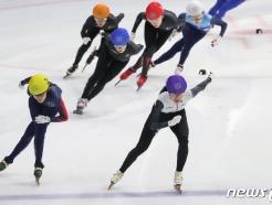 [사진] 김아랑·심석희 '누가 먼저?'