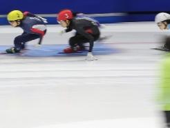 [사진] 김아랑·심석희 '1500m 1·2위'