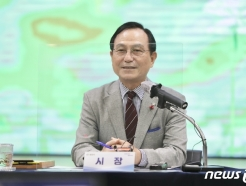 """취임 1년 박상돈 천안시장 """"코로나19 대응·기업유치 등 성과"""""""