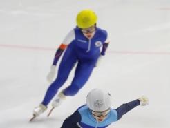 [사진] 최민정 '500m 1위'