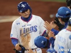 [사진] 삼성 김상수, 득점 성공
