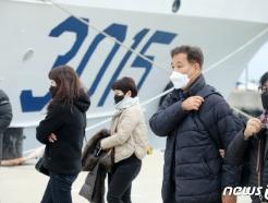 [사진] 3015함 탑승하는 유가족들