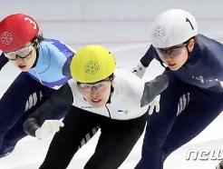[사진] 김아랑, 여자 3000m 우승