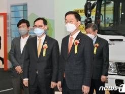 [사진] 경북의성안전체험관 둘러보는 정종철 차관