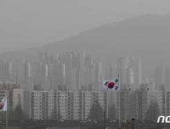 [사진] 뿌연 서울도심