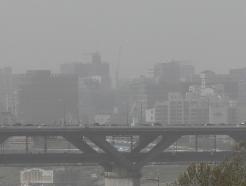 [사진] 몽골·중국발 황사 습격
