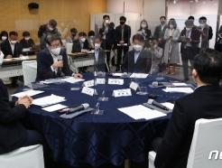 [사진] 발언하는 박형준 부산시장