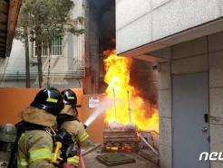 서울 강서구 주택가 화재로 주민 21명 대피…담배꽁초 발화 추정
