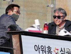 [사진] 최일언 투수코치와 대화 나누는 김경문 감독