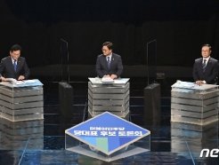 [사진] 민주당 당대표 후보자 '토론회 준비'