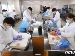 [사진] 일본산 수입 수산물 방사능 검사