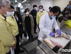 [사진] 수입 수산물 방사능 검사
