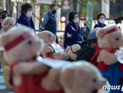 [사진] 발언 경청하는 노량진수산시장 시민대책위