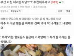 사실로 밝혀진 부산 식당 '어묵탕 육수 재사용'…영업정지에 업주 고발조치