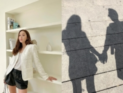 [N샷] 제시카♥타일러권, 손 꼭 잡고 럽스타그램…벌써 열애 9년차