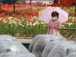 [사진] 4월에 찾아온 초여름 더위