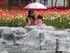 [사진] 4월에 찾아온 더위 '머선일이고~'