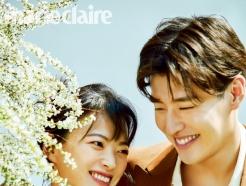 [N화보] 강하늘·천우희, 꽃처럼 싱그러운 봄의 연인