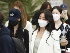 [사진] 미나-지효-다현, 뮤비 촬영 잘 마쳤어요