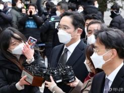 법원 출석 이재용 얼굴보니…'-8kg' 마스크 썼지만 야윈 모습