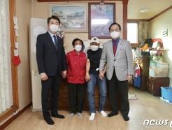 이봉주 선수 쾌유 기원…천안시 체육회, 시민 성금 4000만원 전달