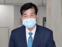[사진] 삼성그룹 불법합병 공판 참석하는 김태한 전 사장
