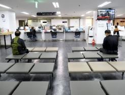 [사진] 코로나19 이후 실직자 첫 감소