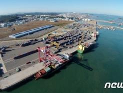 1분기 대산항 처리 물동량 7.3% 줄어 2224만톤…컨테이너는 14.8%↓