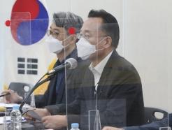 [사진] 발언하는 황전원 위원장