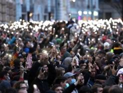 """러시아 반정부 시위…1만4천 시민들 """"나발니에게 자유를"""""""