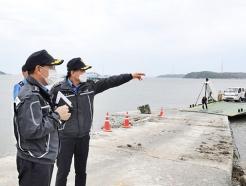 중부해경청장, 한강하구 중립수역 현장 실태 점검