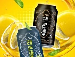 롯데칠성, 과일탄산주 '순하리 레몬진' 출시