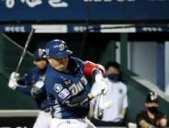 [사진] 양의지 '걸렸다 스리런 홈런'