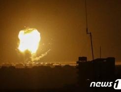 """이스라엘-하마스 '전면전' 조짐, 60여명 사망…국제사회 """"폭력 멈춰야"""""""